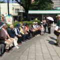 JR板橋駅の駅前広場
